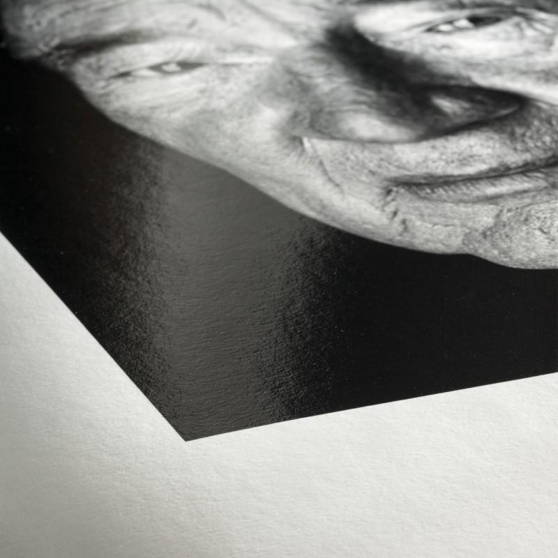 Détail Fine Art Baryta 325g + Caisse Américaine