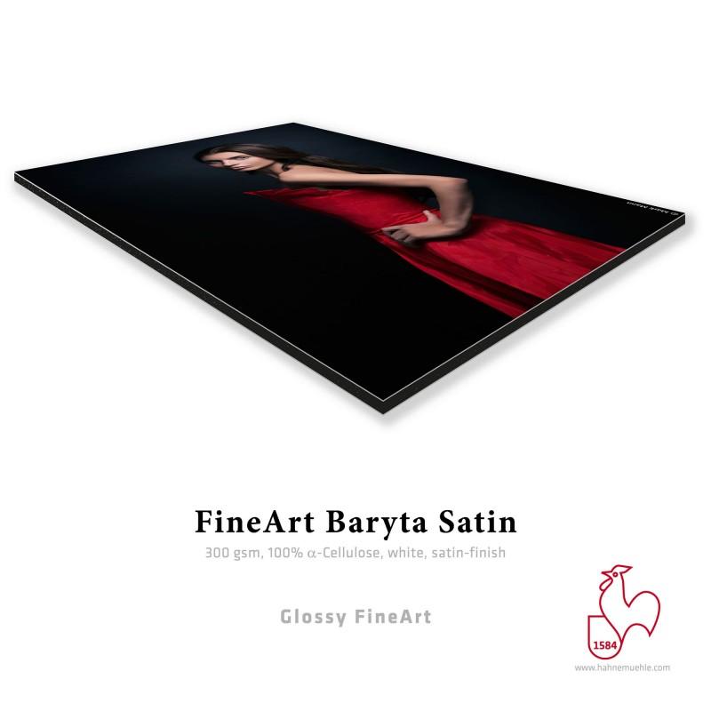 Hahnemühle Fine Art Baryta Satin + Contre-Collage Dibond