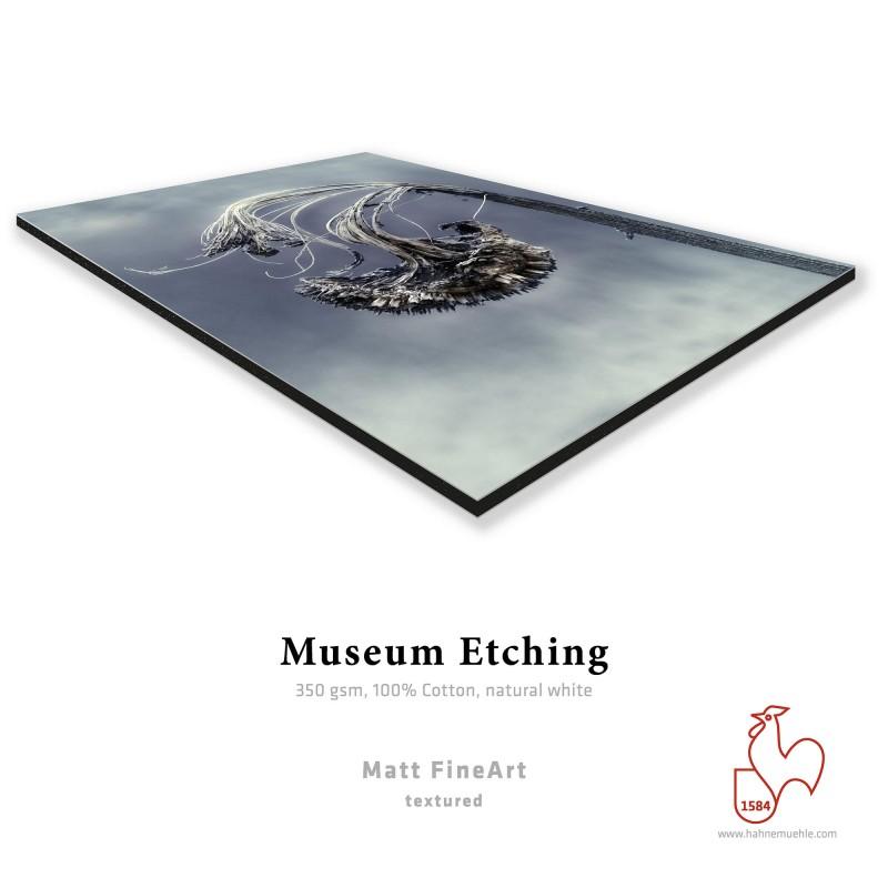 Hahnemühle Museum Etching + Contre-Collage Dibond