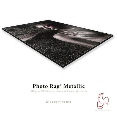 Hahnemühle Photo Rag Metallic + Contre-Collage Dibond
