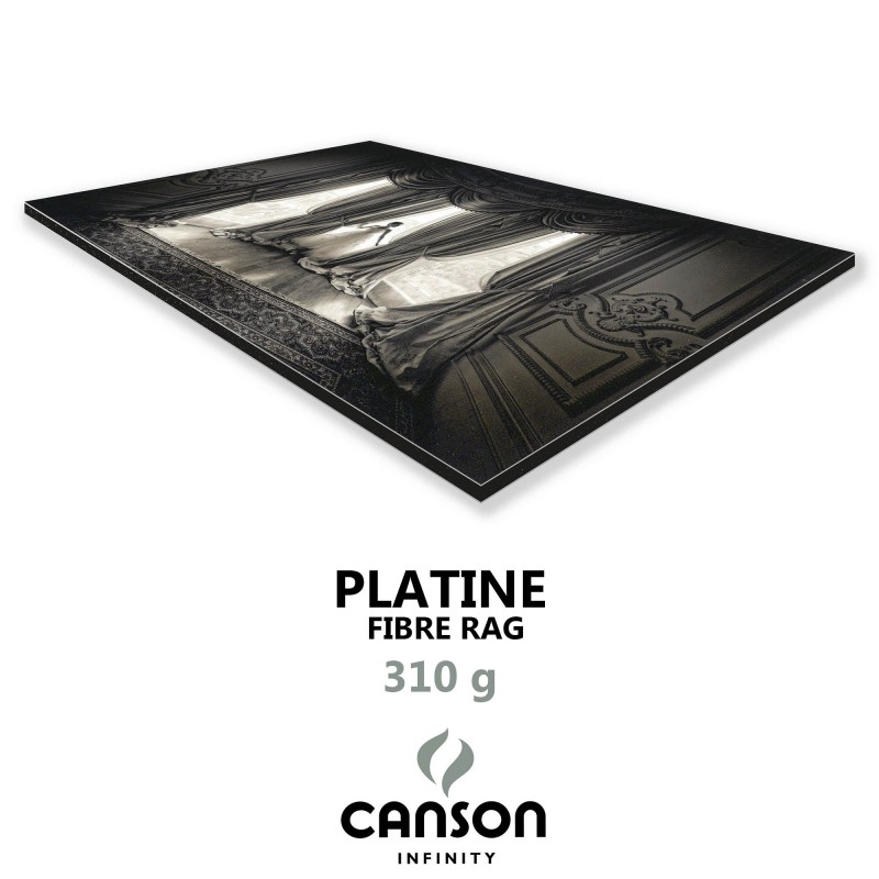 Platine Fibre Rag 310g + Dibond