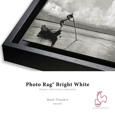Détail Photo Rag Bright White 310g + Caisse Américaine