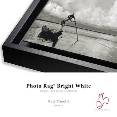 Détail Photo Rag Bright White 310g + Caisse Américaine