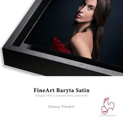 Détail Fine Art Baryta Satin 300g + Caisse Américaine