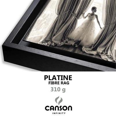 Détail Platine Fibre Rag 310g + Caisse américaine Noire