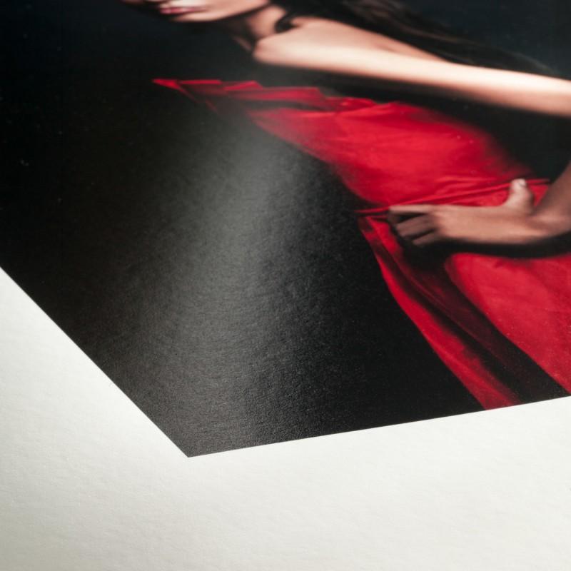 détail Fine Art Baryta Satin Hahnemühle - 300g / m2
