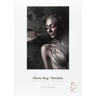 Photo Rag Metallic Hahnemühle - 340g / m2
