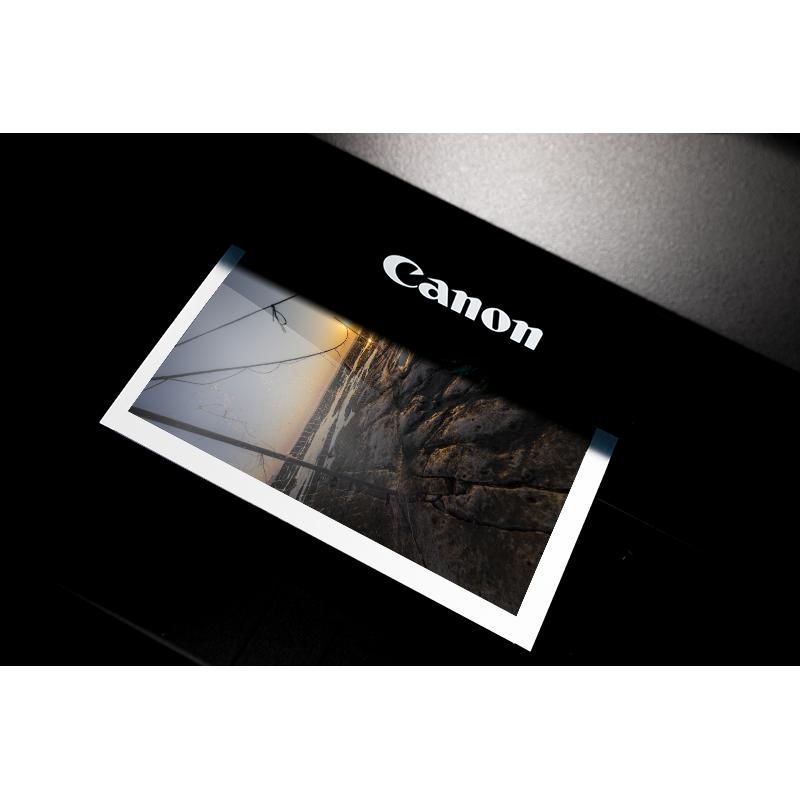Tirage Canon Brillant 300g + Contre collage Dibond